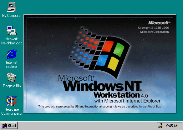 Hasil gambar untuk windows nt 3x